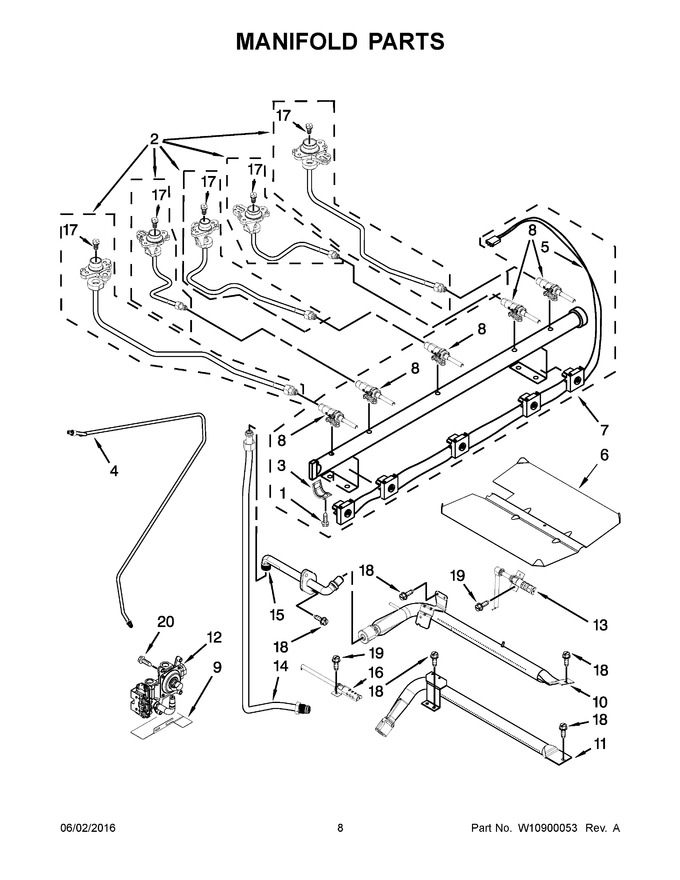 Diagram for MGR8800DS3