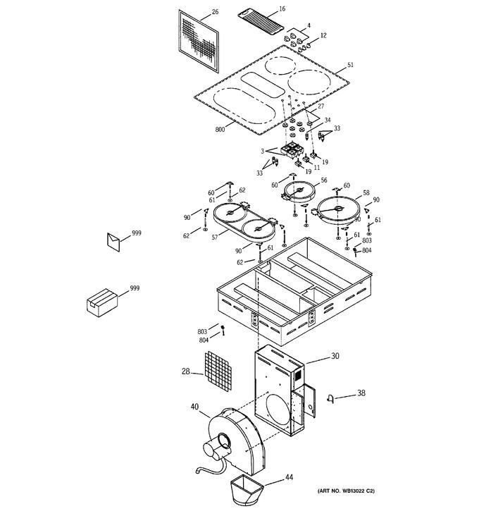 Diagram for JP989KD2CC