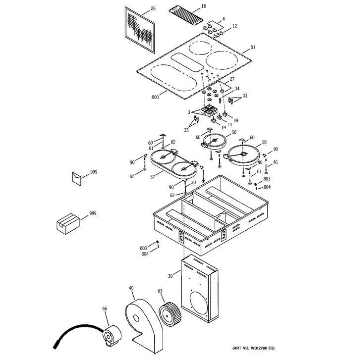 Diagram for JP989KD3CC