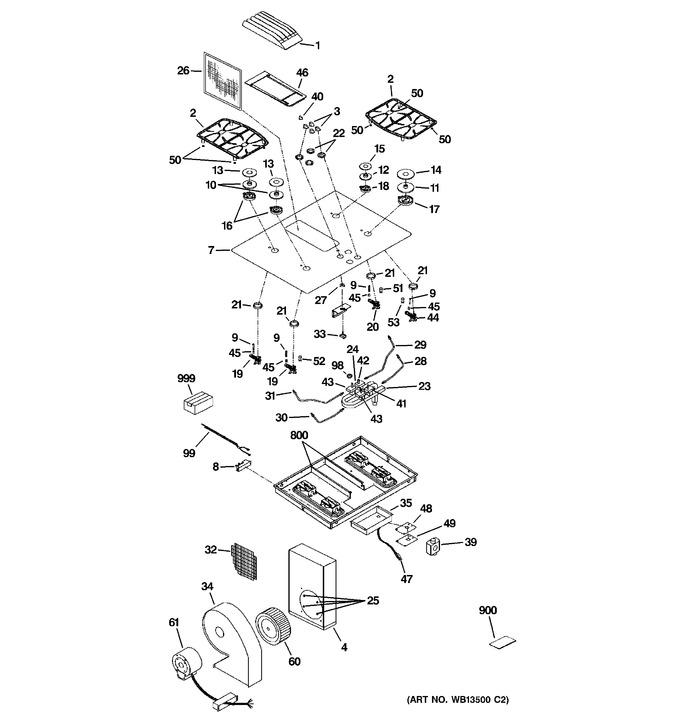 Diagram for JGP989BK1BB